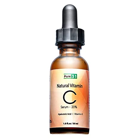 Sérum de 31 vitaminas con ácido hialurónico y vitamina E orgánico, antienvejecimiento e hidratante para