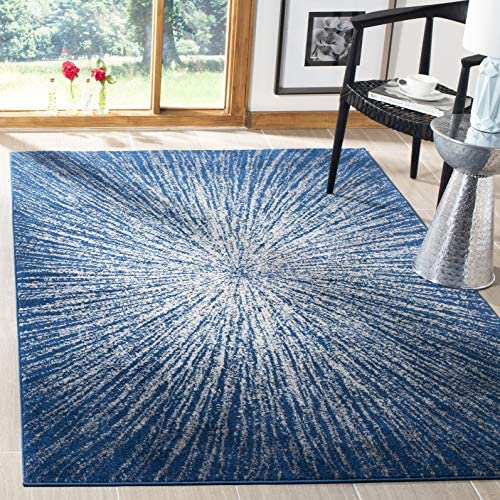 Safavieh Evoke Collection EVK228N Modern Contemporary Burst Area Rug