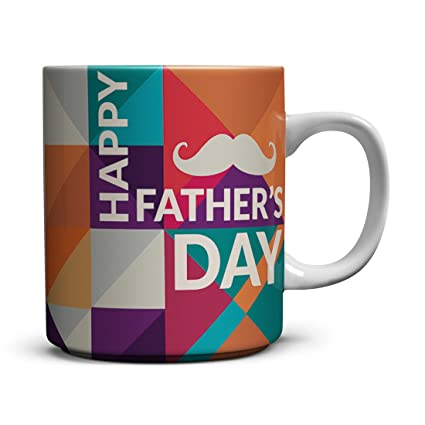 Amazoncom Happy Fathers Day Ceramic Coffee Mugs Funny