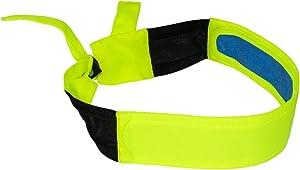 Radians RCS110 Arctic Skull Cooling Headband, Hi-Viz Green