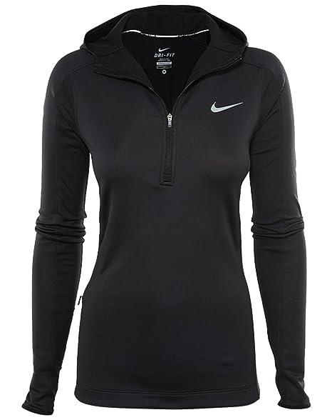 Nike Thermal Hoody Sweatshirt Schwarz L Damen: Amazon