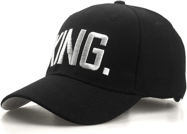 King Queen Baseball Cap Snapback Men Women Visor Cap dad Bone White Black Couple Lover Hip Hop Sport Hat