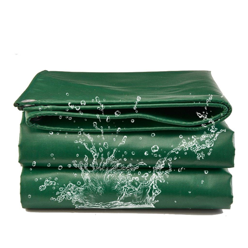 ターポリンレインコートクロスアウトドアターポリングリーンポンチョサンスクリーンキャノピートラックターポリンレインカバー防水キャンバスレインシェード(420g / M2) (サイズ さいず : 8m*10m) 8m*10m  B07JZ6CGG6