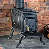 CLARKE BOXWOOD STANDARD TRADITIONAL CAST IRON STOVE 25,000 Btu/7KW by Clarke International