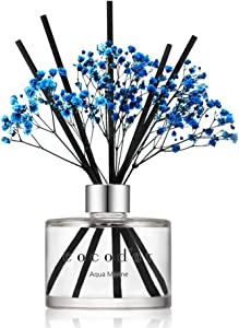 Cocodor Flower Reed Diffuser/Aqua Marine/6.7oz(200ml)/1 Pack/Home & Office Decor Aromatherapy Diffuser Oil Gift Set
