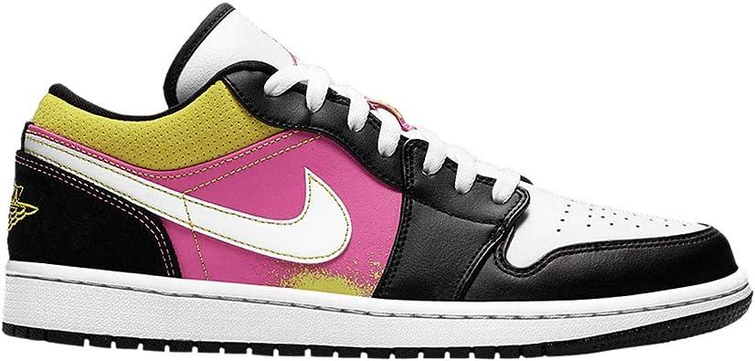 Amazon.com | Jordan Men's Shoes Nike Air 1 Low Spray Paint CW5564 ...