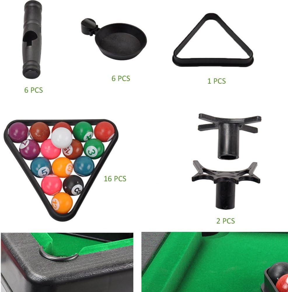 STOBOK Juego de Billar de Mesa Mini Juego de Billar Mesa de Billar para niños Incluye Bolas de Juego: Amazon.es: Juguetes y juegos