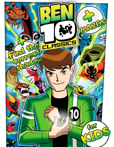 Ben 10 Coloring Book: Great Activity Book for Kids with Mazes and Puzzles