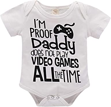 I/'m proof daddy doesn/'t always play video games