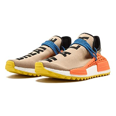 6d979bd2a95b1 NMD PW Human Race Trail Pharrell Williams Sunglow Trainer Men Women  Amazon. co.uk  Shoes   Bags