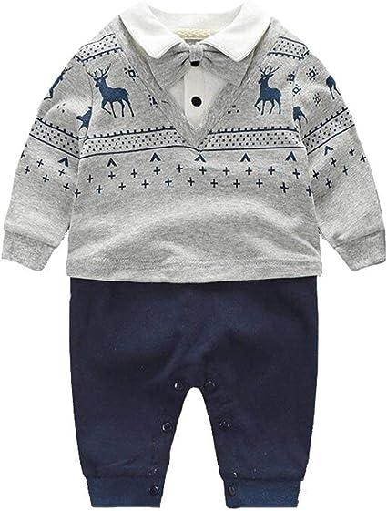 Amazon.com: Conjunto de ropa de algodón para bebé, para ...