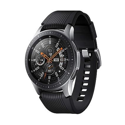 Samsung Galaxy Watch - Reloj Inteligente, Bluetooth, Plata, 46 mm ...
