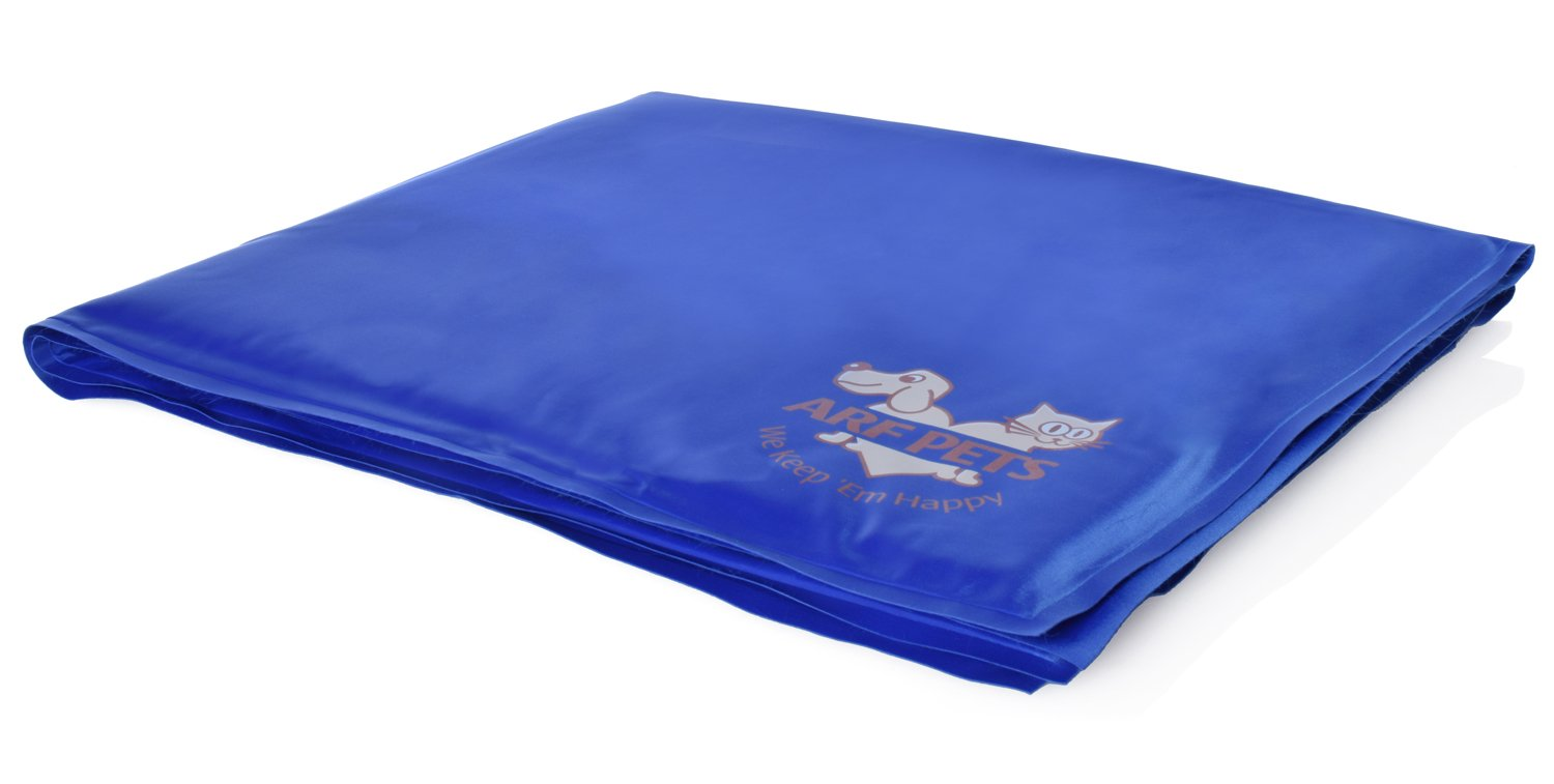 Pet Dog Self Cooling Mat Pad for Kennels, Crates and Beds 31 X 37 - Arf Pets by Arf Pets (Image #4)