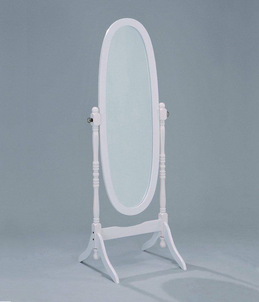 Cheval Mirror in White