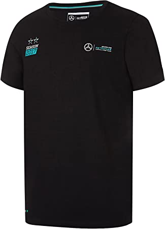Lewis Hamilton 2017/Championship T-Shirt wei/ß Mercedes AMG Formel 1/F1