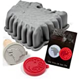 Game of Thrones Baking Set with Cookie Stamps and Cake Pan