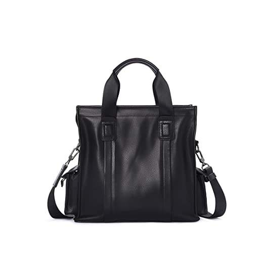 a8e93cc655 Image Unavailable. Image not available for. Color  Stylish Practical Hand  Bag Briefcase for Men Sling Shoulder Bag Large Pocket Business Casual Work