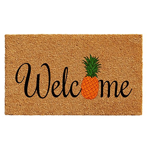 Pineapple Mat - Home & More 102301729 Pineapple Fun Doormat 17