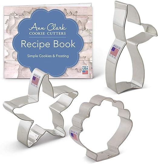 Ann Clark Cookie Cutters Cortador de galletas coraz/ón 7,6 cm Acero fabricado en EE./UU.
