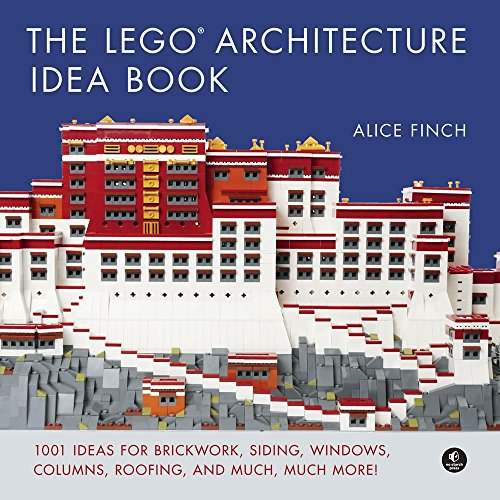 Price comparison product image The LEGO Architecture Idea Book: 1001 Ideas for Brickwork,  Siding,  Windows,  Columns,  Roofing,  and Much,  Much More