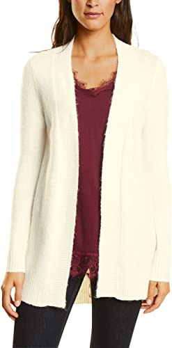 Street One Cosy Cardigan with Lacing At Backside Mujer