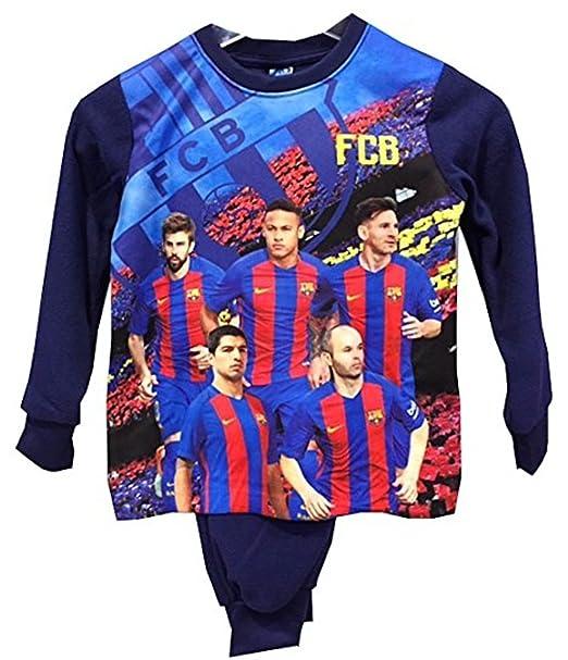Pijama infantil FCBarcelona-Barça talla 6  Amazon.es  Ropa y accesorios 5f44f345706