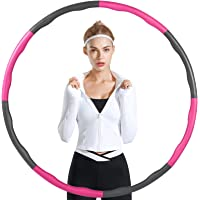 A-Hoola Hula Weighted Hoop for adults 3 lb,Weighted Hoop for Exercise,Weight Loss Hoop for Adults , Sports Workout Hoop…
