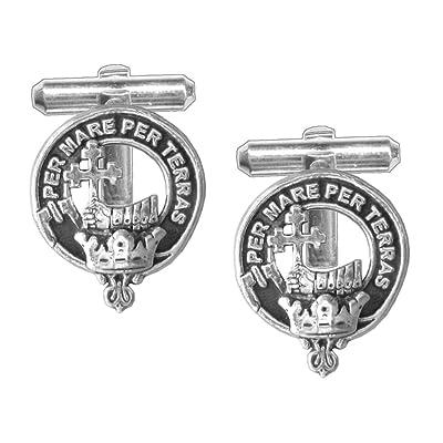 MacDonald (Donald) Scottish Clan Crest Cufflinks