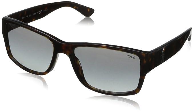Polo Ralph Lauren Polo - Lunette de soleil PH 4061 Wayfarer - Homme ... f234405f01a2