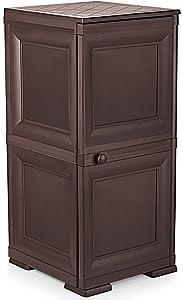 Cello Infiniti Mini 2 Storage Cabinet Plain (Brown)