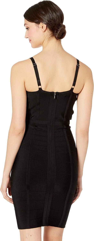 832fd1ef0a bebe Women's Maia Bandage Dress at Amazon Women's Clothing store: