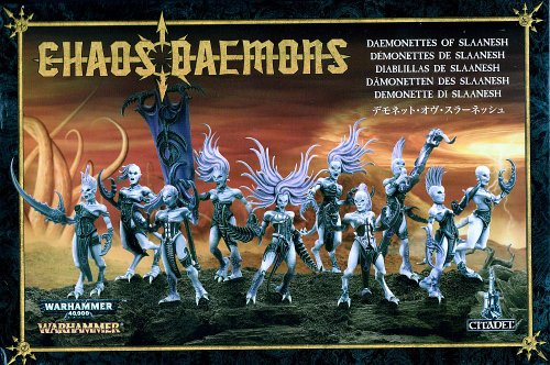Games Workshop Warhammer 40k Chaos Daemons - Daemonettes for sale  Delivered anywhere in USA