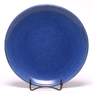 Dinner Coupe Plate, American Blue Pattern: Made in the USA | Emerson Creek Pottery
