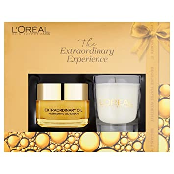 Resultado de imagen de L'Oreal Paris Extraordinary Oils Nourishing Oil-Cream Gift Set