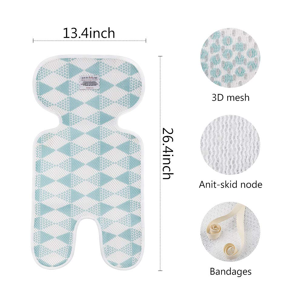 66 X 28 X 3.5 CM RAINBOW INSPIRE BABY MOSES BASKET//PRAM OVAL SHAPED MATTRESSES QUILTED SOFT Have one to sell Sell it yourself