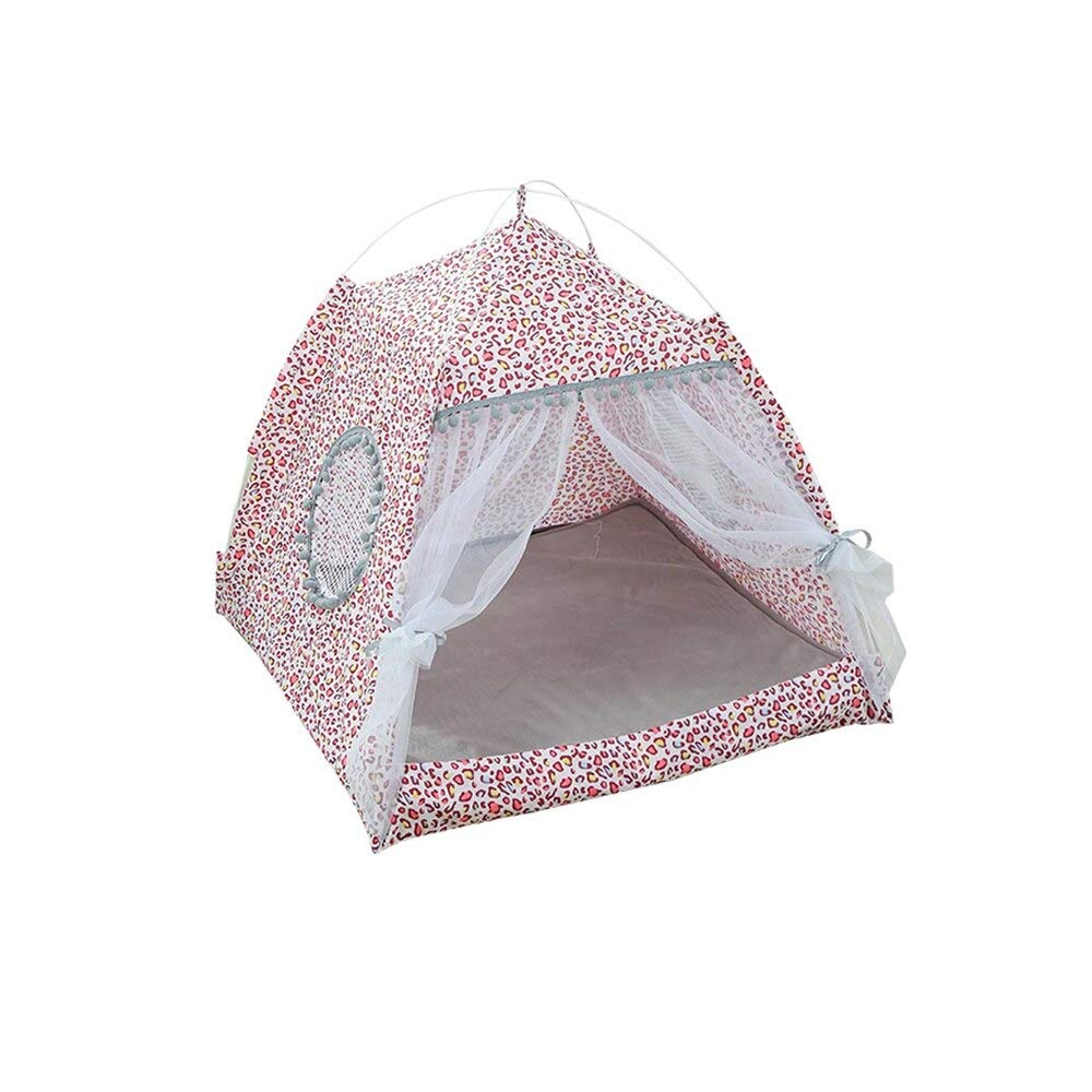 Aigou Dog Bed Pet Breathable Indoor Tent Pet Cozy House Small Medium Dog Cat Foldable Bed Cat House Puppy Kitten Bed Animals Home Products