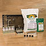 "The ""Everything"" Soil Blocker Set - includes Ladbrooke Soil Blockers (Mini 4, Micro 20), Cubic Inserts, 1"" Seed Dibbles, Grow Tweezers, 2 Trays, 1 Qt Worm Castings and BONUS 8 Qt Soil Block Mix - FREE SHIPPING!"