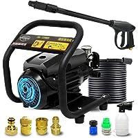 High Pressure Cleaner - Household/Commercial High Pressure Water Gun, Powerful Compact/Full Control Car Wash Pump, 220v,1800w,120Bar