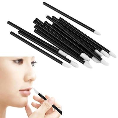 ¡ Venta caliente!Pincel de labios desechables,Internet 100PCS lápiz labial brillo varitas hacen herramienta