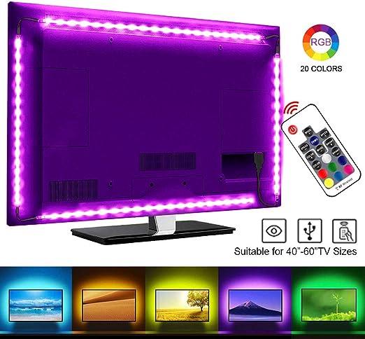 SRUIK - Retroiluminación LED para televisor (RGB, LED, para ...