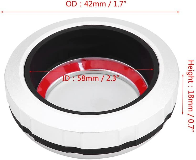 Car Interior Center Console Multimedia Buttons Decorative Cover Frame Trim Multimedia Buttons Cover 7 Button Style1