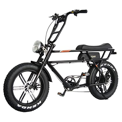 Battery Powered Bicycles >> Amazon Com Addmotor Motan Electric Bikes For Adults 750w Motor 20