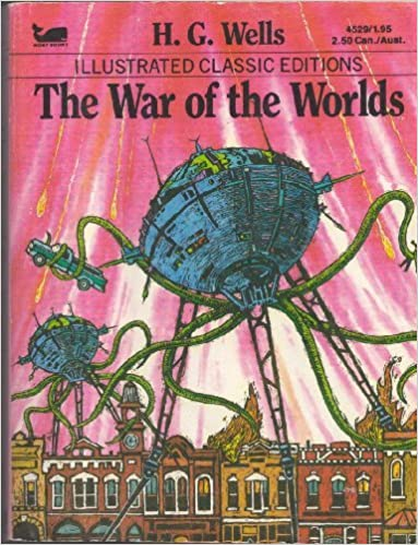 Illustrated Classics Editions The War Of The Worlds H G Wells