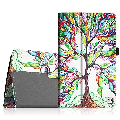 LG G Pad F 8.0 / G Pad II 8.0 Folio Case - Premium PU Leather Cover [Fit (4G LTE AT&T Model V495 / T-Mobile V496 / US Cellular UK495) & G Pad 2 8.0 V498] 8-Inch Tablet, Love Tree
