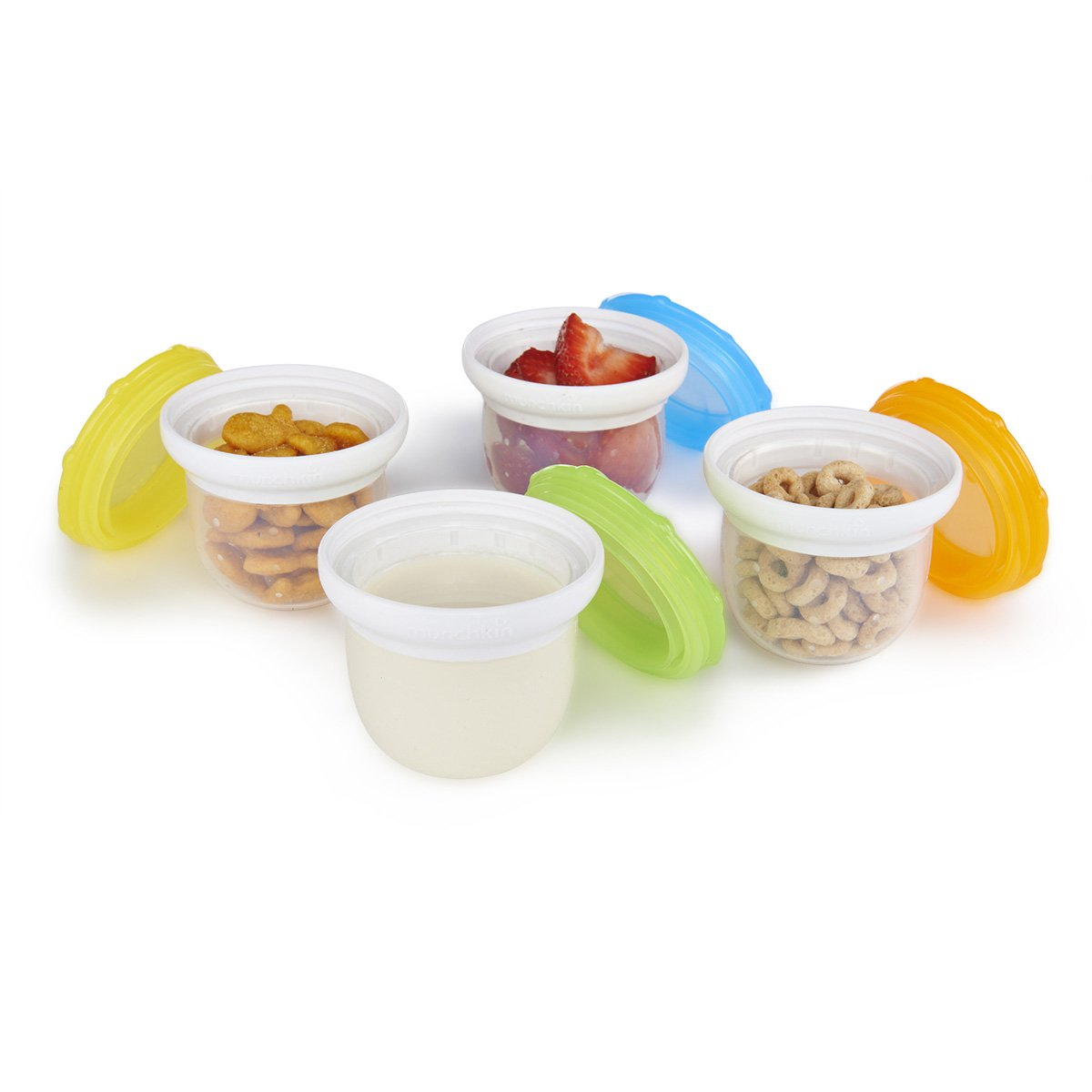 Munchkin 4 Piece Silicone Freezer and Storage Cups by Munchkin (Image #2)