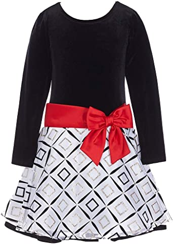 Bonnie Jean Little Girls Top To Drop Waist Black Skirt
