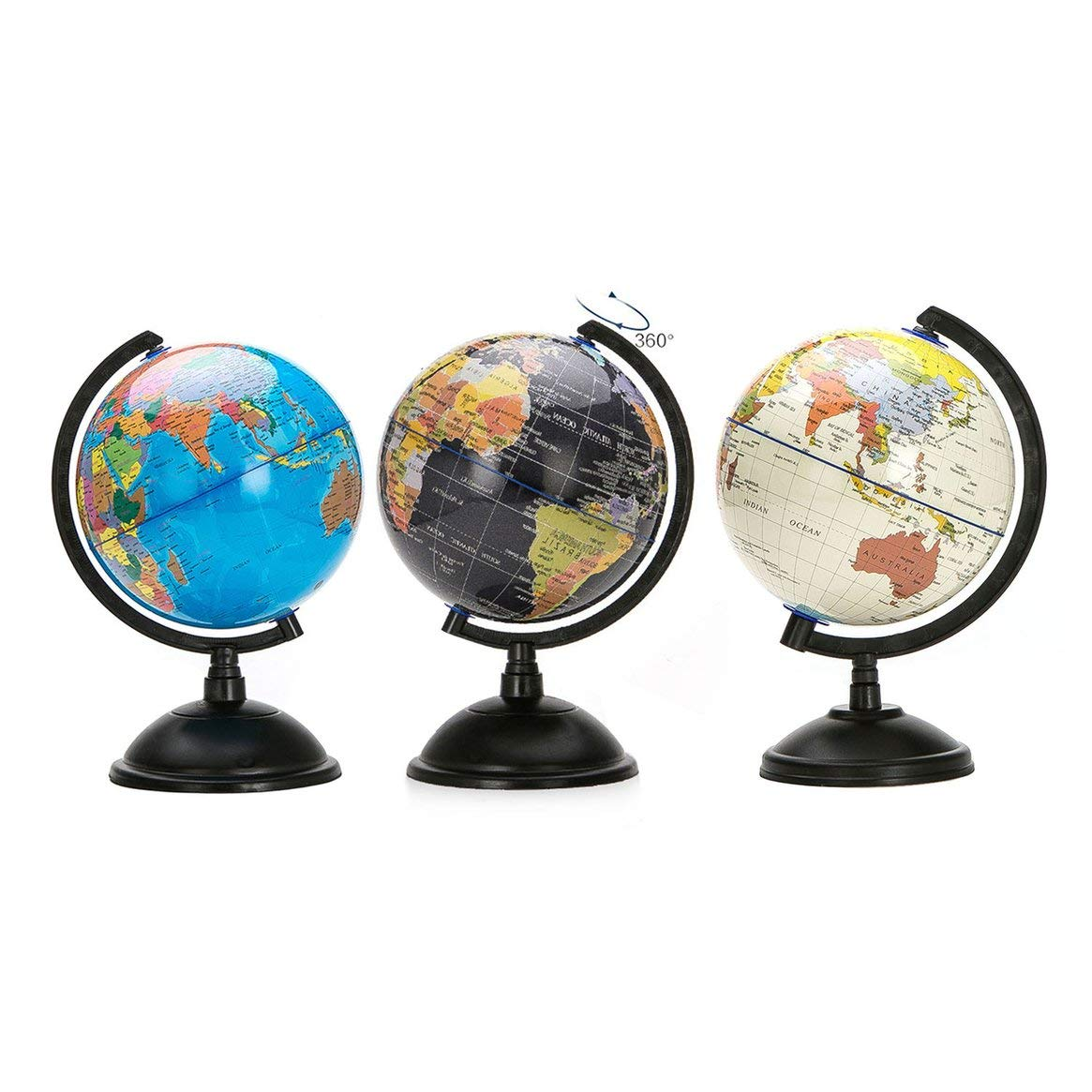 Ressources Pour Les Programmes Bleu 20cm Blue Ocean World Carte Globe Terrestre Avec Support Pivotant Jouet Educatif Geographie Ameliorer La Connaissance De La Terre Et La Geographie Commerce Industrie Et Science Hotelaomori Co Jp