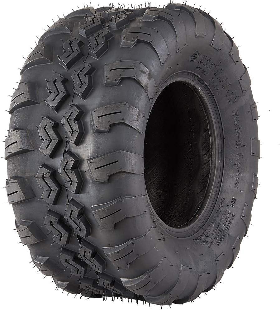 Set of 2 VANACC Sport ATV Tires AT 22x10-10 22x10x10 4PR