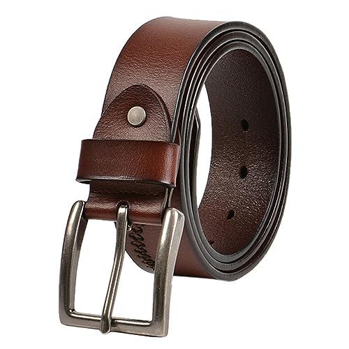 Cintura Maschile PIN Fibbie,Gioventù,Cintura Casual Semplice,Moda Cintura-A 110cm(43inch)