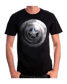 De Camiseta Y América PlataAmazon Capitán Escudo Juegos esJuguetes lKTF1cJ